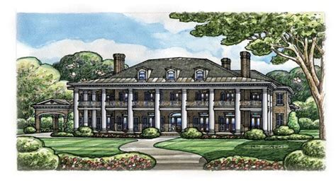 plantation home blueprints plantation style house plans colonial plantation house