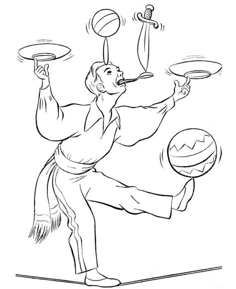 kids n fun com 39 coloring pages of circus
