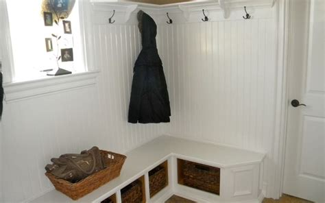 Amazing Design Of Corner Entryway Bench Homesfeed