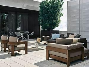 Canape De Jardin En Bois : le canap de jardin embellit votre espace ext rieur ~ Dallasstarsshop.com Idées de Décoration