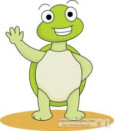 Cute Cartoon Turtle Clip Art