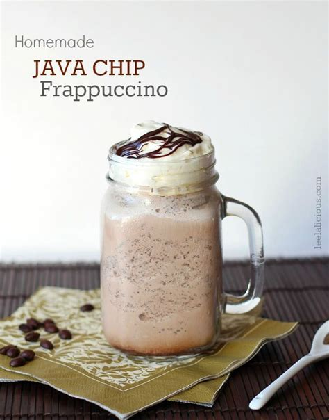 Espresso is only used in one kind of frappuccino, called the espresso frappuccino. Homemade Java Chip Frappuccino - a delicious and healthier Starbucks copycat recipe | Starbucks ...