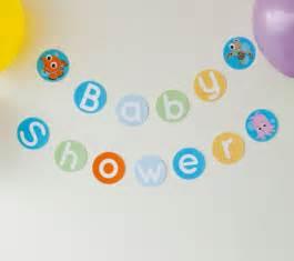 Finding Nemo Baby Shower Banner