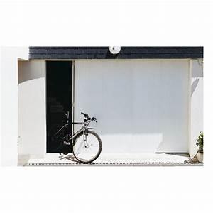 Porte de garage coulissante ouverture laterale porte de for Porte de garage coulissante de plus porte entree