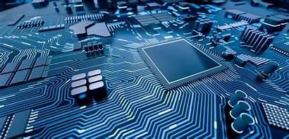 Computer Chip Motherboard Cpu Circuit Processor 3d