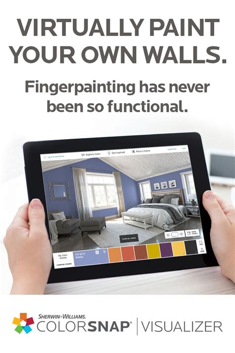 virtually see sherwin williams paint colors on your own