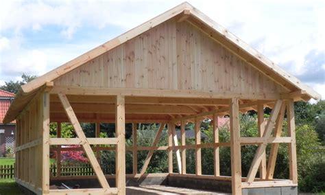 Garage Fachwerk Preis by Fachwerk Carports Holzgaragen Als Individueller Bausatz