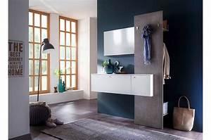 Miroir D Entrée : meuble d 39 entr e suspendu vestiaire mural avec miroir novomeuble ~ Teatrodelosmanantiales.com Idées de Décoration