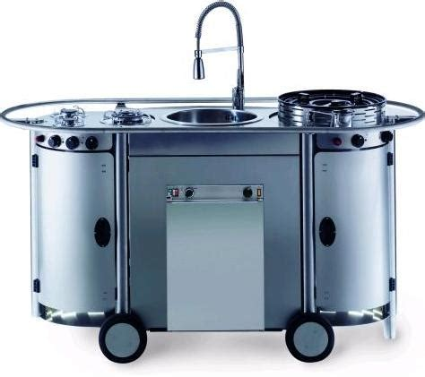 contemporary kitchen carts and islands bongos portable kitchen from emme a professional mobile kitchen