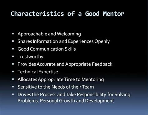 Characteristics Of A Good Mentor In Network Marketing