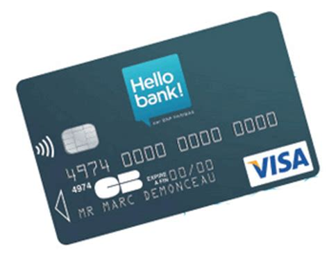 plafond carte visa classic carte hello bank