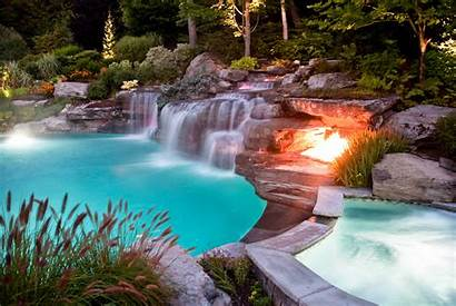Pool Company Nj Natural Renovation Waterfall Waterfalls