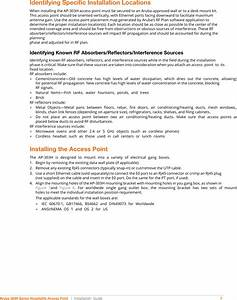 Aruba Networks Apinh303 802 11a  B  G  N  Ac Wireless Access