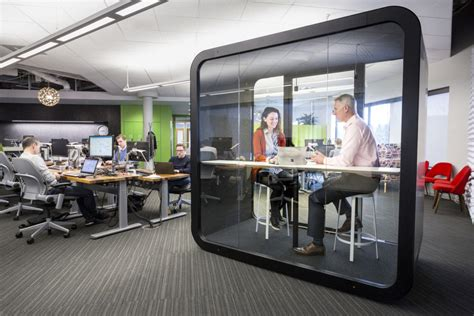 modern shelf silent workspaces increase in open plan offices