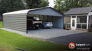 Double Wide Carport 2039 X 2139 X 839 Shop Metal Buildings