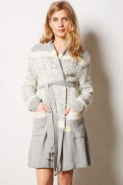 sweater robe intarsia sweater robe robes anthropologie and sweaters