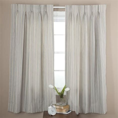 ellis curtain springfield stripe pinch pleat patio curtain