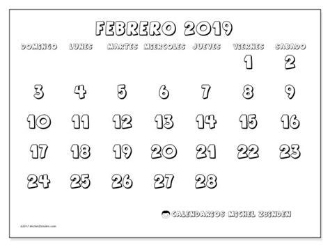 calendario febrero ds michel zbinden es