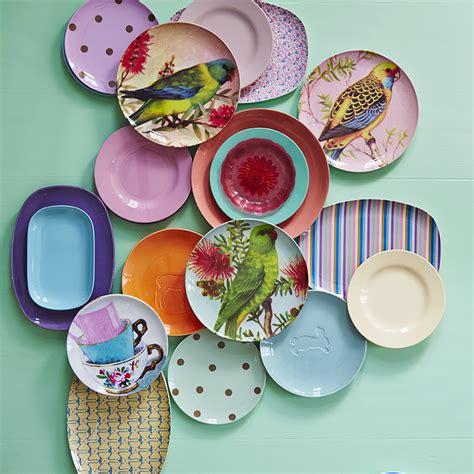 Rice Melamin Teller by Rice Melamin Teller Just Be Awesome Colors 6er Set