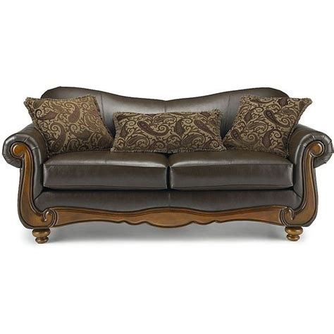jcpenney leather sofa enzo leather sofa jcpenney via polyvore polyvore 2047