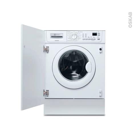 lave linge cuisine lave linge séchant 7 kg intégrable 60 cm electrolux