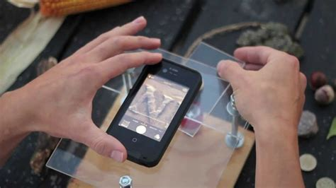 into phone turn your smartphone into a digital microscope