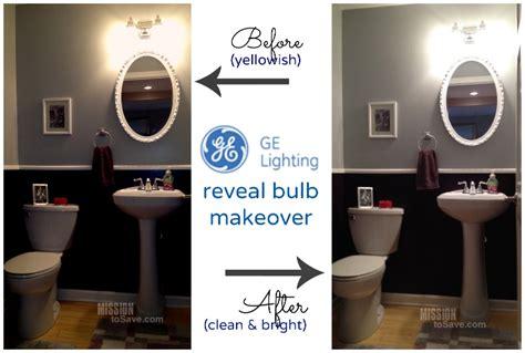 new ge reveal halogen light bulbs brighter cleaner light