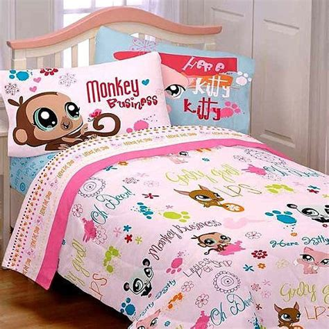 Table Lamps Bedroom Walmart by Littlest Pet Shop Bedding And Room Decorations Modern