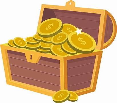 Chest Treasure Money Svg Clipart Spanish Icon