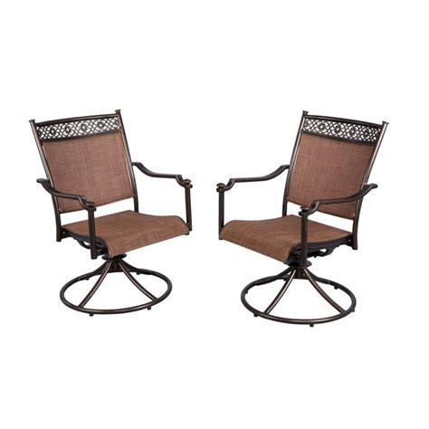 furniture hton bay brown wicker patio