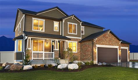 Scow Lake Utah by New Homes In Salt Lake City Ut Home Builders In Three Forks