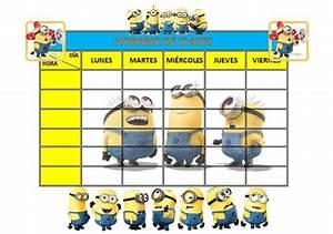 10 modelos de horarios escolar para niños Material para maestros, Planeaciones, exámenes