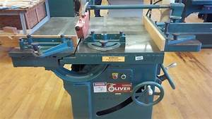 Oliver 260 16 U0026quot  Table Saw