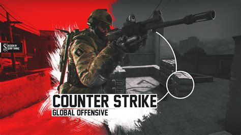 counter strike global offensive wallpaper speedart