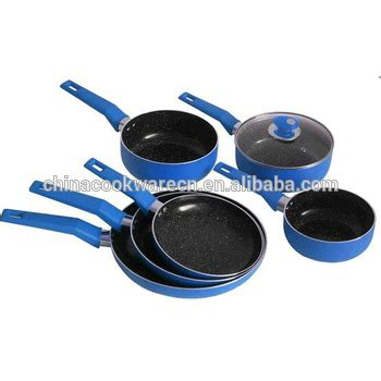 polished aluminum cookware cooking pots marble ceramic pots set buy aluminum cooking pots
