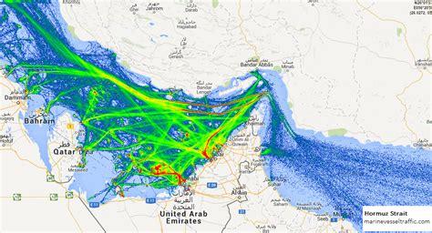 hormuz strait ship traffic ship traffic