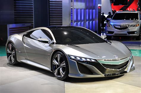 acura nsx concept portends an efficient hybrid supercar