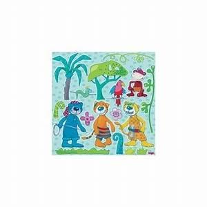 Stickers Animaux De La Jungle : stickers muraux animaux de la jungle bambins d co ~ Mglfilm.com Idées de Décoration