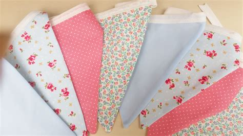 shabby chic bunting uk shabby chic style fabric bunting fully lined with option to personalise