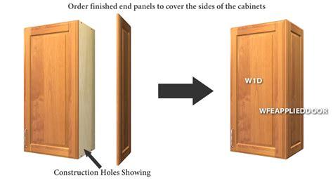 cabinet finished end panels end panels