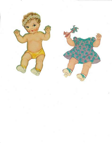 missy paper dolls baby doll