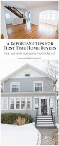 11 Important Tips For First Time Home Buyers