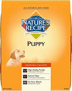 Nature's Recipe Puppy Chicken Meal & Rice Recipe Dry Dog