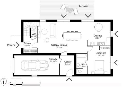 plan maison 7 chambres plan maison à étage 6 chambres ooreka
