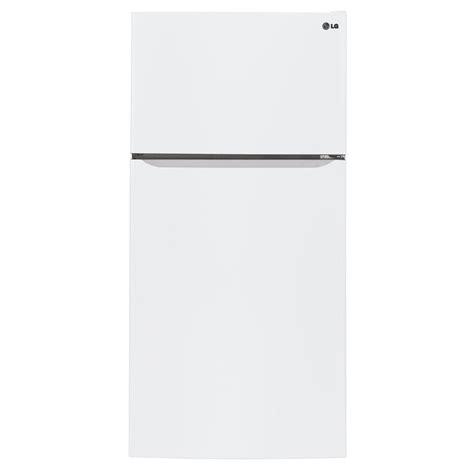 lg electronics     cu ft top freezer