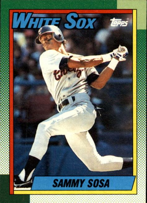 We did not find results for: 1990 Topps Sammy Sosa #692 Baseball Card   eBay