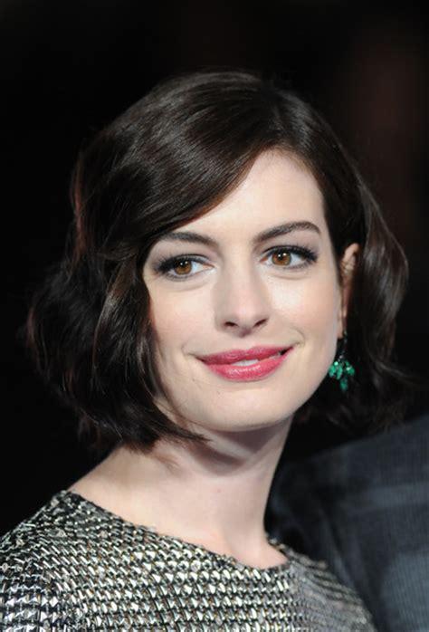 fashionable celebrity short hair styles pretty