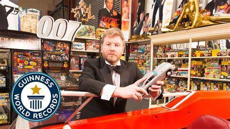 Largest Collection Of James Bond Memorabilia Guinness
