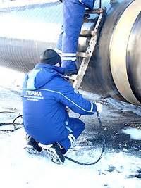 Инстpукция Временная технологическая инструкция по нанесению покрытия из ленты АБРИС Т на стальные подземные трубопроводы в процессе.