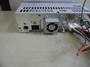Clarion Cmd4 Marine Stereo Head Unit W   Wire Harness -tested